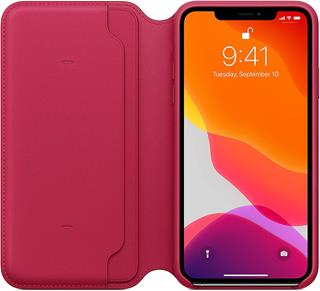 Funda Apple iPhone 11 Pro libro frambuesa