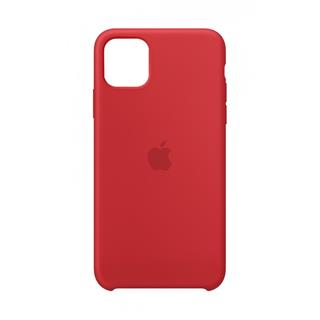 Funda Apple iPhone 11 Pro Max silicona roja