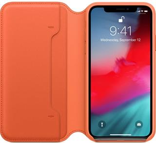 Funda Apple iPhone XS libro sunset
