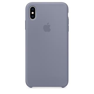Funda Apple iPhone xs Max Silicona Gris