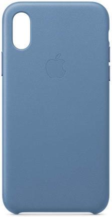 Funda Apple iPhone XS piel azul
