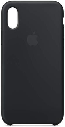 Funda Apple iPhone XS silicona negra