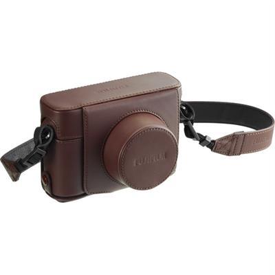 Funda cámara Fujifilm LC-X100F cuero marrón