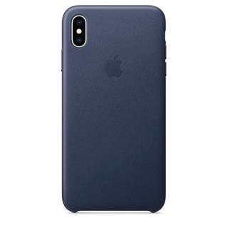 Funda de Piel APPLE IPHONE XS MAX Azul