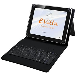"FUNDA E-VITTA KEYTAB USB 9.7""-10.1"" ANDROID NEGRO"