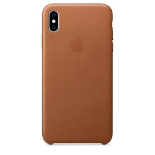 Funda Piel  iPhone XS MAX Marron Caramelo