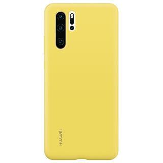 Funda silicona Huawei P30 Pro amarilla