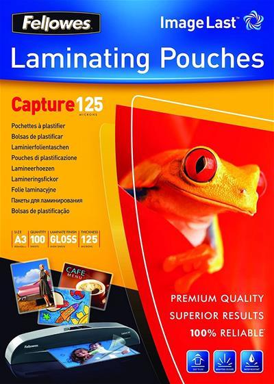 Fundas Fellowes 5307506 Plastif 100 125 MC brillo ...