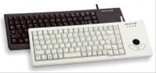 Cherry XS Trackball Keyboard 89 Key USB Grey
