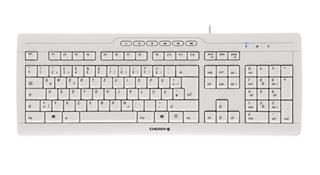 Teclado Cherry Stream 3.0 USB White Spanish