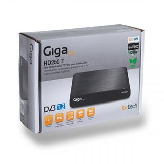 Giga TV TvTech GigaTV HD250 T Cable Full HD Negro