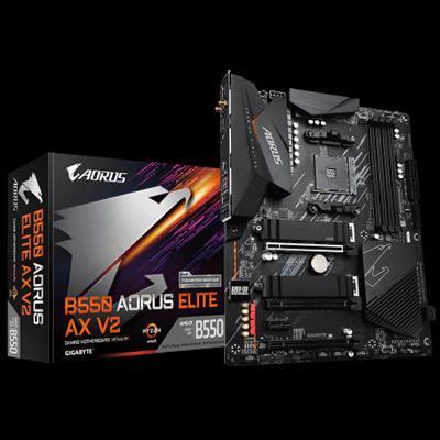 Gigabyte B550 AORUS ELITE AX V2 placa base AMD B550 Zócalo AM4 ATX