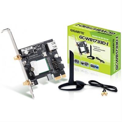 Gigabyte GC-WB1733D-I adaptador y tarjeta de red ...