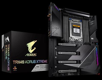 Gigabyte TRX40 AORUS XTREME placa base AMD TRX40 Socket sTRX4 XL-ATX