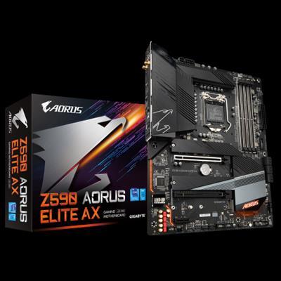 Gigabyte Z590 AORUS ELITE AX placa base Intel ...