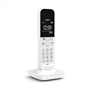 Gigaset CL390 Teléfono DECT/analógico Blanco ...