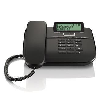 Gigaset TELEFONO FIJO DA611 NEGRO