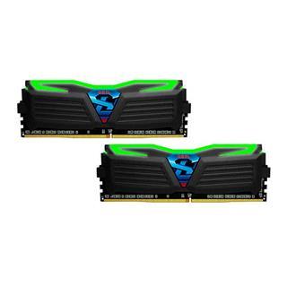 Módulo d memoria DDR4 16GB (2X8GB) PC2400 Geil Super Luce BL