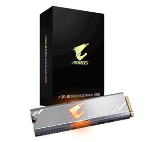 DISCO DURO M2 SSD 512GB GIGABYTE AORUS RGB NVME 2280