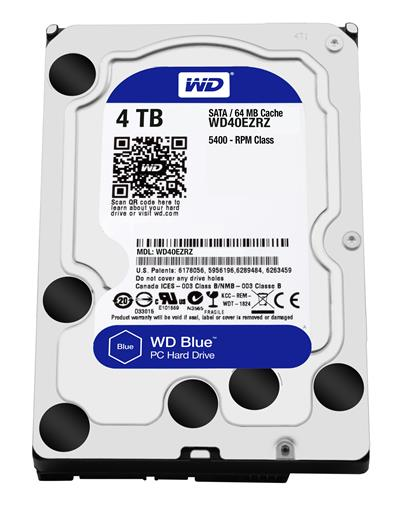 "HD 3.5"" WESTERN DIGITAL 4TB SATA 64MB BLUE ..."