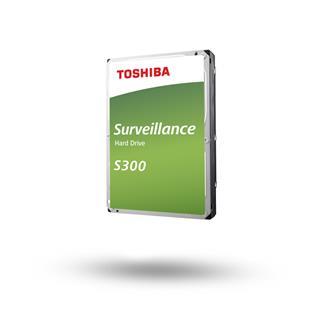 Toshiba Surveillance HDD S300 4TB 3.5 SATA Bulk