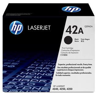 TONER HP LASERJET 42A NEGRO 4250/4350 outlet