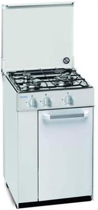 Hornillo cocina Emwell H-3Pbi gas butano blanca 3 ...