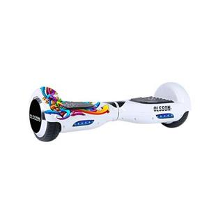 Hoverboard eléctrico OLSSON UPWAY RACING 6.5 Graffiti Blanco
