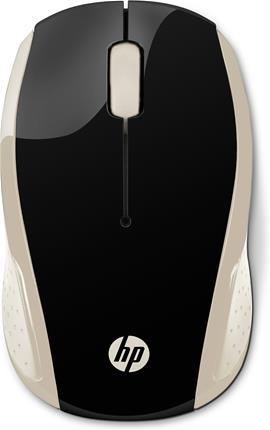 Ratón inalámbrico óptico HP Inc HP 200 SILK GOLD ...