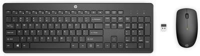 Pack teclado y ratón HP 235 inalámbricos