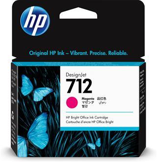 Tóner Hp  INC 712 29-ml  Magenta DesignJet Ink ...