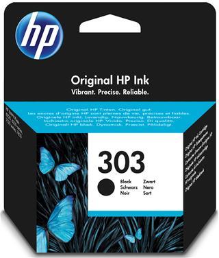 Tinta negra HP 303 original 4ml
