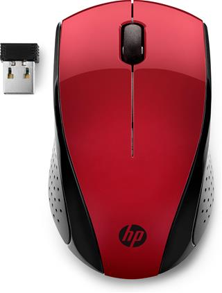 HP Inc WIRELESS MOUSE 220 S RED RED