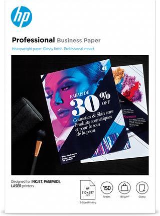 HP Papel Profesional GlossyBiz Gls 180g A4 150h ...