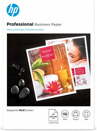 HP Papel profesional mate A4 180g 150hojas