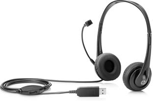 HP STEREO USB HEADSET              IN