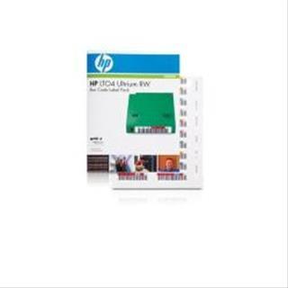 HPE SUPPL ENT HPE Ultrium LTO4 RW Bar Code Label ...