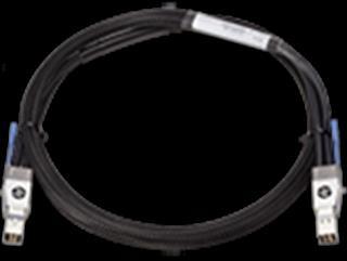 HPE X242 40G QSFP+ QSFP+1M DAC CBL  IN