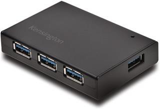 Hub Kensington 4 puertos USB 3.0 Hub+Carga