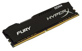 Módulo Kingston Technology HyperX FURY Memory Black DDR4  4GB 24