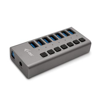 I-TEC ACCESSORIES I-TEC USB 3.0 HUB 7 PORT 36 W   ...