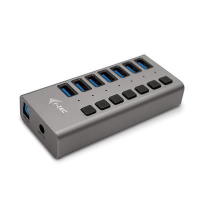 Hub USB I-TEC U3CHARGEHUB7 USB3.0 7puertos 36W