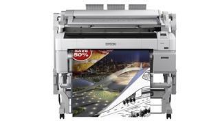 Impresora Epson SureColor SC-T5200 MFP HDD tinta color
