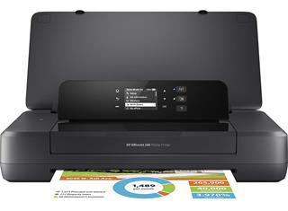 Impresora HP 200 Mobile OfficeJet tinta colot WiFi