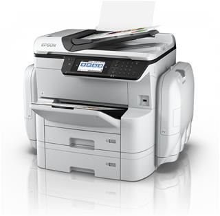 Impresora inyección de tinta color Epson WorkForce Pro RIPS WF-C