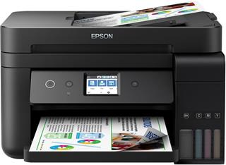 Impresora inyección de tinta color EPSON ECOTANK ET-4750 IN USB