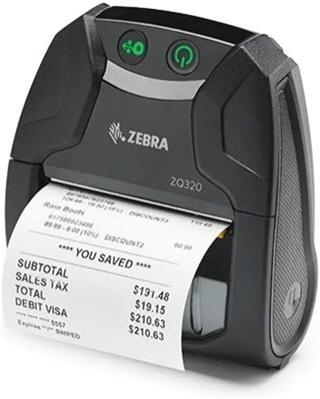 Impresora tickets Zebra ZQ320 Bluetooth USB 4 IP54