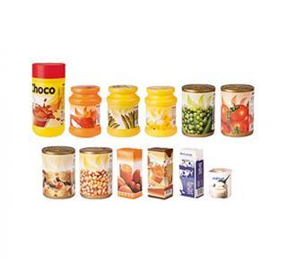 Juego Miniland alimentos envasados 12 piezas