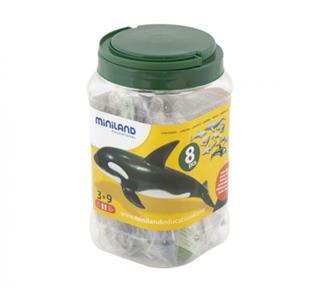 Juego animales marinos Miniland 8 figuras