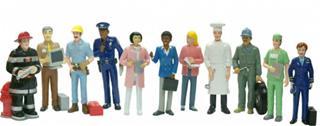 Juego Miniland figuras oficios y profesiones 11 ...